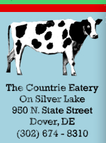 The Country Eatery on Silver Lake, 950 N. State Street, Dover, DE, (302) 674-8310